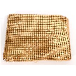 VINTAGE GOLD METAL MESH LADIES WALLET