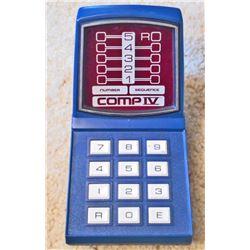VINTAGE MILTON BRADLEY COMP IV ELECTRONIC GAME