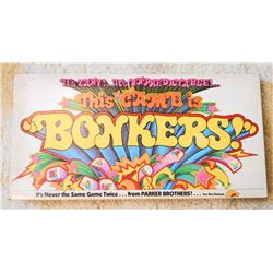 VINTAGE 1978 PARKER BROS. BONKERS BOARD GAME IN ORIG. BOX