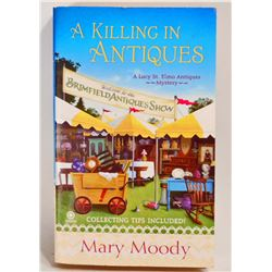 """""""A KILLING IN ANTIQUES"""" BOOK"""