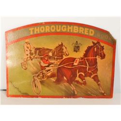 VINTAGE THOROUGHBRED HORSE RACING NEEDLE BOOK