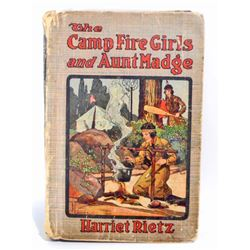 """VINTAGE """"THE CAMPFIRE GIRLS AND AUNT MADGE"""" HARDCOVER BOOK"""
