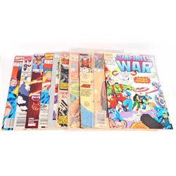LOT OF 10 VINTAGE COMIC BOOKS - INCL. X-MEN