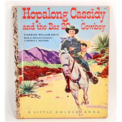 """1952 """"HOPALONG CASSIDY AND THE BAR 20 COWBOY"""" CHILDRENS BOOK"""
