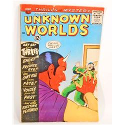 1963 UNKNOWN WORLDS NO. 27 COMIC BOOK - 12 CENT COVER
