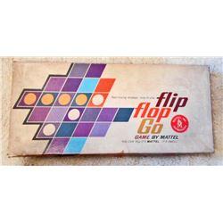 VINTAGE MATTEL FLIP FLOP GO BOARD GAME IN ORIG. BOX