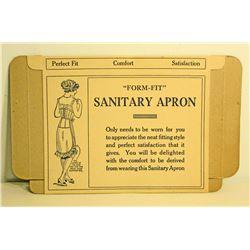 VINTAGE SANITARY APRON ADVERTISING BOX