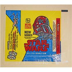 VINTAGE 1977 STAR WARS TRADING CARD WRAPPER