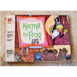 VINTAGE MUPPETS KERMIT THE FROG CARD GAME IN ORIG. BOX