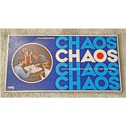 VINTAGE LAKESIDE CHAOS BOARD GAME IN ORIG. BOX