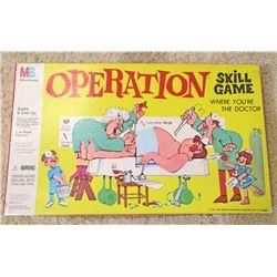 VINTAGE MB OPERATION BOARD GAME IN ORIG. BOX