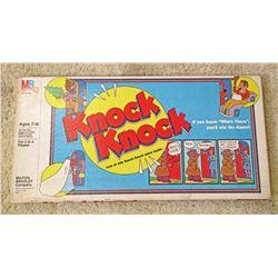 VINTAGE MB KNOCK KNOCK BOARD GAME IN ORIG. BOX