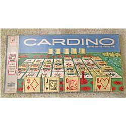 VINTAGE MB CARDINO BOARD GAME IN ORIG. BOX
