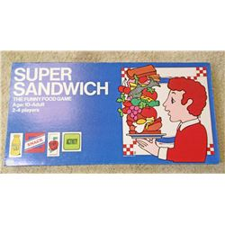 VINTAGE SUPER SANDWICH BOARD GAME IN ORIG. BOX
