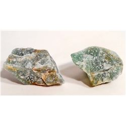 LOT OF 294.2 CTS OF ROUGH GREEN QUARTZ