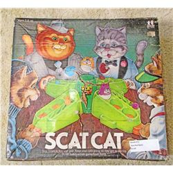 VINTAGE TOMY SCAT CAT BOARD GAME IN ORIG. BOX