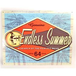 ENDLESS SUMMER METAL ADVERTISING SIGN - 12.5X16