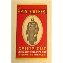 VINTAGE PACK OF PRINCE ALBERT CIGARETTE PAPERS