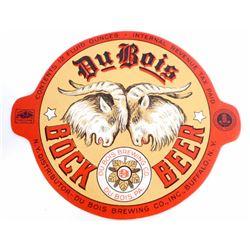 RARE VINTAGE DU BOIS BOCK BEER BOTTLE LABEL