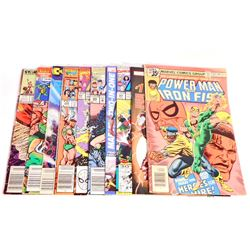 LOT OF 10 VINTAGE COMIC BOOKS - INCL THE AVENGERS
