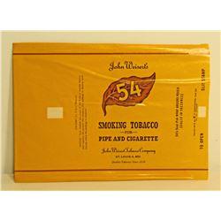VINTAGE WEISERT 54 SMOKING TOBACCO BAG