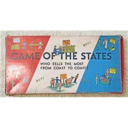 VINTAGE GAME OF THE STATES BOARD GAME IN ORIG. BOX