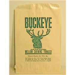 VINTAGE BUCKEYE CHEWING TOBACCO BAG