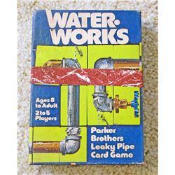VINTAGE PB WATER WORKS CARD GAME IN ORIG. BOX