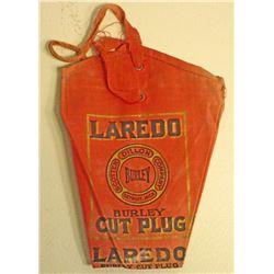 VINTAGE LAREDO CLOTH TOBACCO BAG