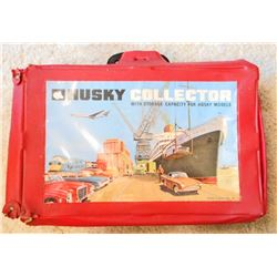 VINTAGE HUSKY CARS COLLECTORS CARRYING CASE