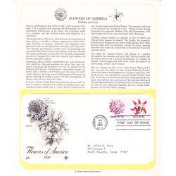 Flowers of America 1981