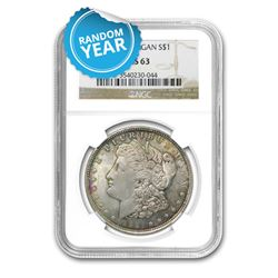 Morgan Silver Dollar MS63