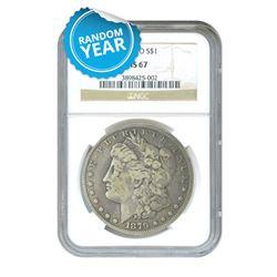 Morgan Silver Dollar MS67