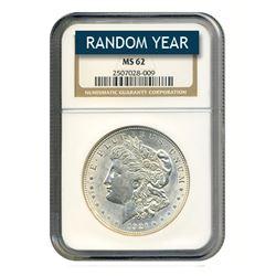 Morgan Silver Dollar MS62