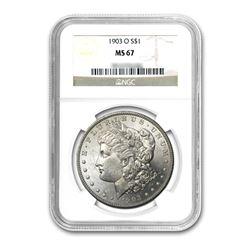 1903-O $1 Morgan Silver Dollar - NGC MS67