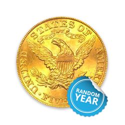 $5 Liberty UNC
