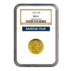 $5 Liberty MS61