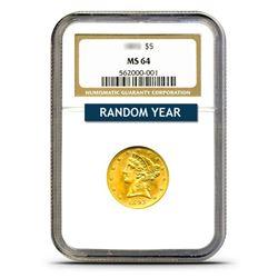 $5 Liberty MS64