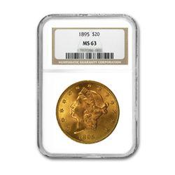 1895 $20 Liberty NGC MS63