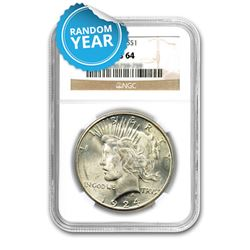 Peace Dollar MS64