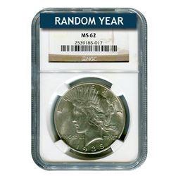 Peace Dollar MS62