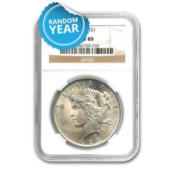 Peace Dollar MS65