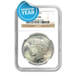 Peace Dollar MS66