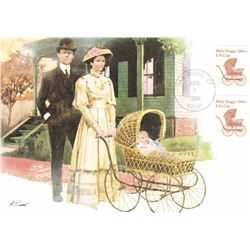 Baby Buggy 1984 Fleetwood First Day of Issue Maximum Card
