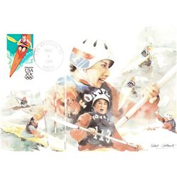 Summer Olympics (4-4)  1984 Fleetwood First Day of Issue Maximum Card