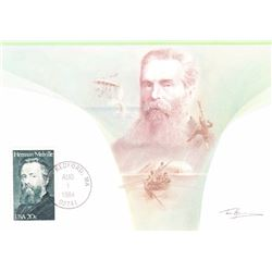 Herman Melville 1984 Fleetwood First Day of Issue Maximum Card