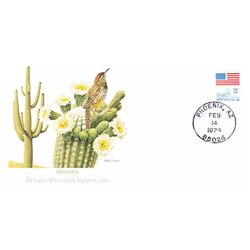 Bird and Flower of Arizona The State Bird and Flower on  An Unprecedented Limited Edition Collection