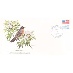 Bird and Flower of Connecticut The State Bird and Flower on  An Unprecedented Limited Edition Collec