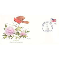 Bird and Flower of Indiana The State Bird and Flower on  An Unprecedented Limited Edition Collection