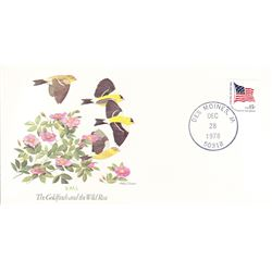 Bird and Flower of Iowa The State Bird and Flower on  An Unprecedented Limited Edition Collection of